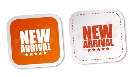 new arrival: New arrival stickers