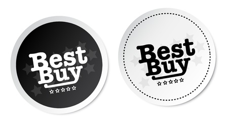 choise: Best buy stickers Illustration