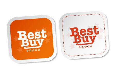 Best buy stickers Illustration