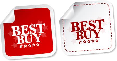 top seller: Best buy stickers Illustration