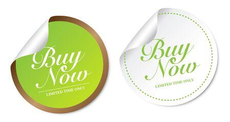 Buy now stickers