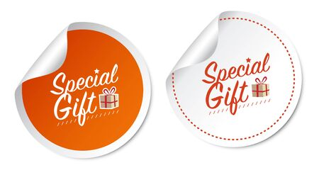 special event: Special Gift Stickers
