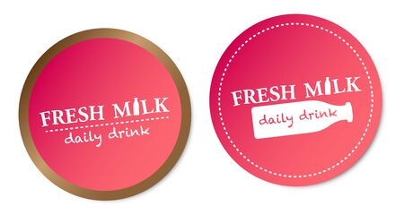Fresh Milk Stickers