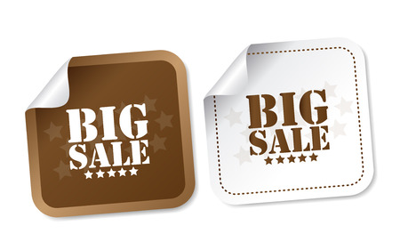 Big sale stickers