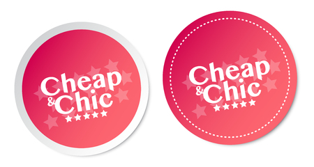 Cheap and Chic Stickers
