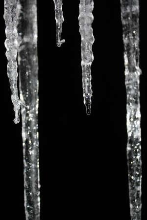 sopel lodu: sopel lodu Zdjęcie Seryjne