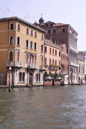 The building on the water, Venice, the main channel photo