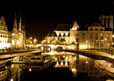 Gent - Ghent by night