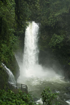 Watervallen Costa Rica Stockfoto