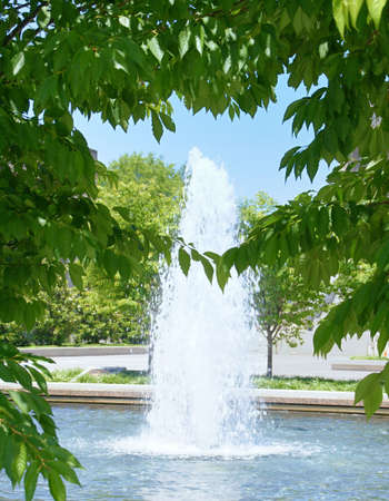 Fountain in Nashville Tennessee