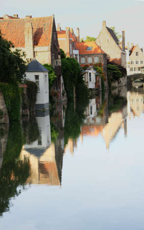 Bruges Canal reflection