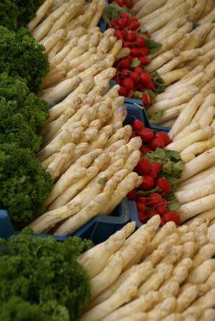 Three  Vegetables                Stock Photo