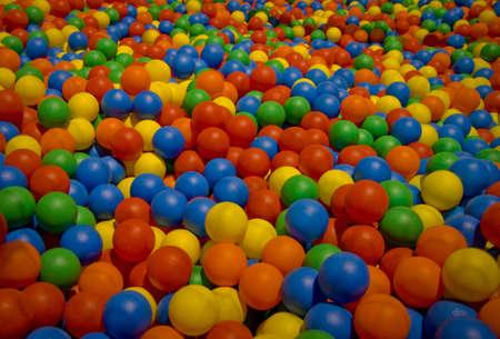Met meerdere pool van ballen