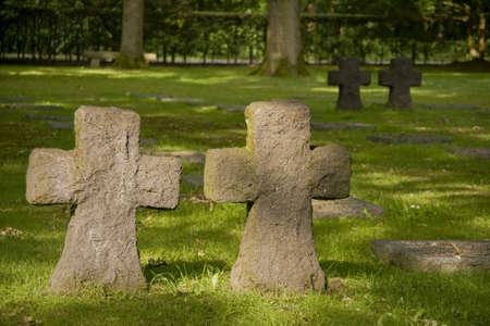 German cemetery in Flanders