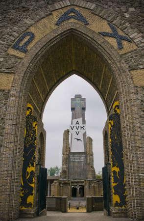 Pax gate in Diksmuide Flanders