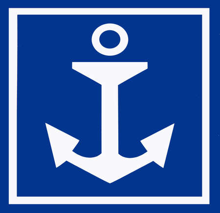 ship anchor: Anchor sign