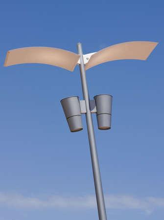 street lamp: Street light fixture