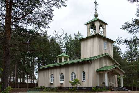 rovaniemi: The humble Russian church set in the woods outside Rovaniemi in Finnish Lapland