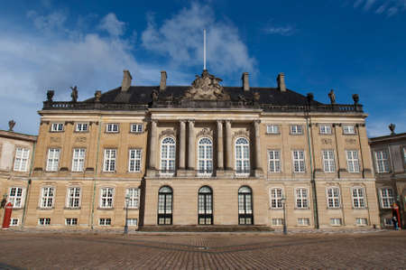 COPENHAGEN, DENMARK - CIRCA SEPTEMBER 2010: One of the four Royal palaces on Copenhagen
