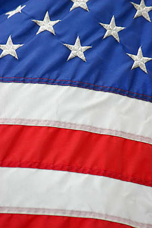 American Flag Stock Photo
