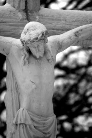 Jesus, faded background Stock Photo - 299896