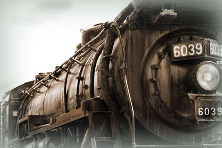 pa: Big Train, Scranton, Pa. Stock Photo