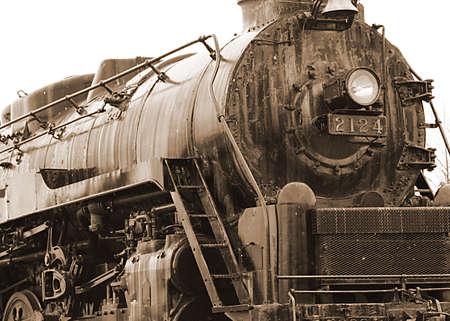 Train Sepia Toned photo