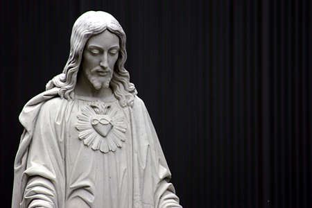 kruzifix: Jesus schwarz und wei�