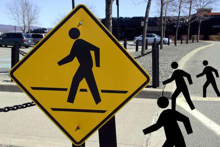 passage pi�ton: Inscrivez Crosswalk