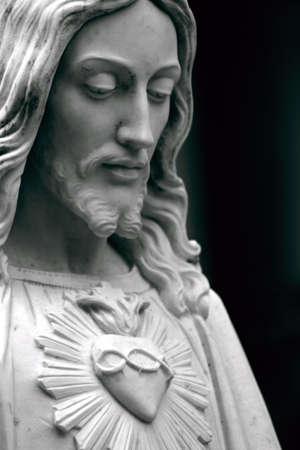 Jesus detail Stockfoto