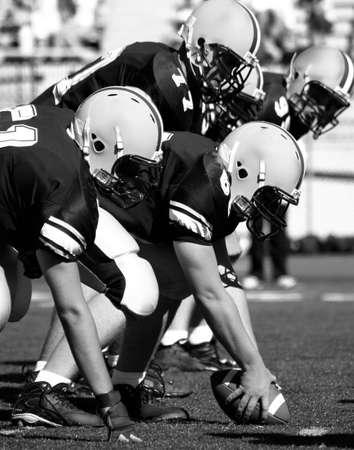 linemen: Offensive Linemen American Football