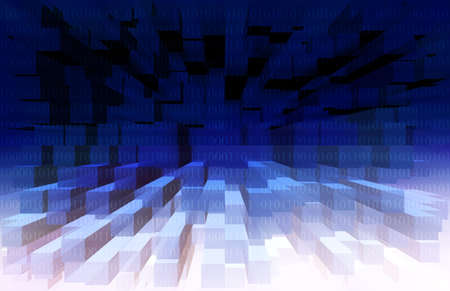 Binary Code Background photo