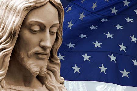 Jesus in the USA Stock Photo - 3519252