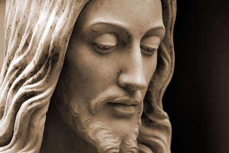 Sepia-toned Jesus Christ Archivio Fotografico