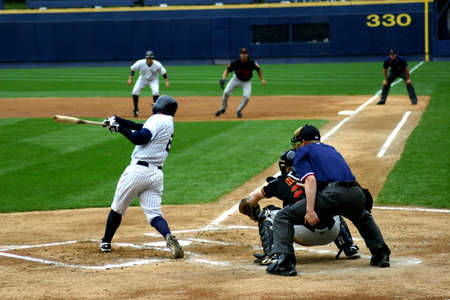 Scranton Wilkes Barre Yankees batter, No.85, swings at a pitch in a game at PNC Field on July 31, 2008 in Scranton, PA.