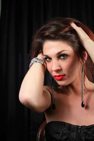 Beautiful elegant woman photo