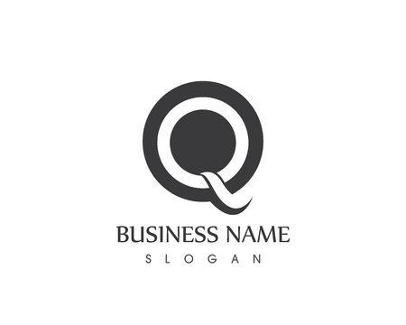 Q Letter Business Logo design Vector Template Icon Illustration