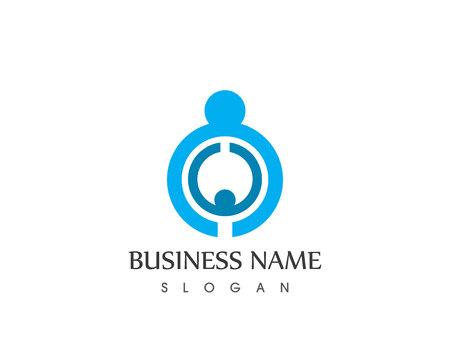 Adoption People Logo Design Template