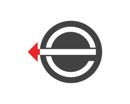 Business arrows logo template Illustration