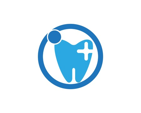 Health dental logo vector template Иллюстрация
