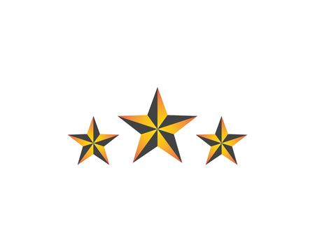 Star logo design template Archivio Fotografico - 109648835