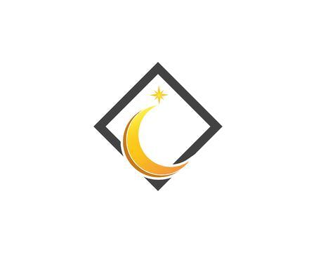 Star logo design template