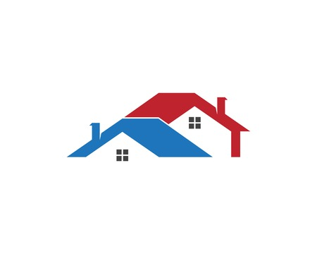 Real estate and building home logo vector template Illustration