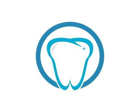 Health dental care vector template