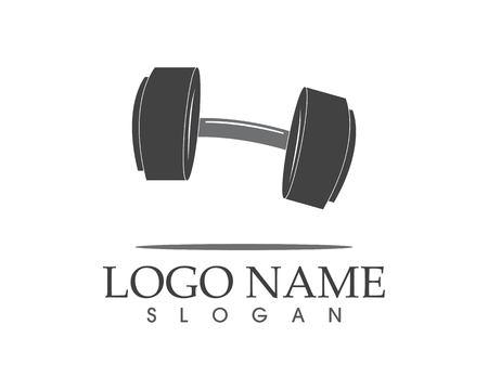 Barble Gym icon logo vector illustration