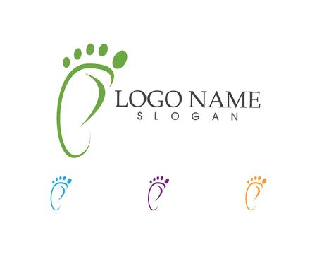 Foot icon sign logo