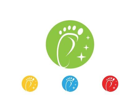 Foot icon sign logo