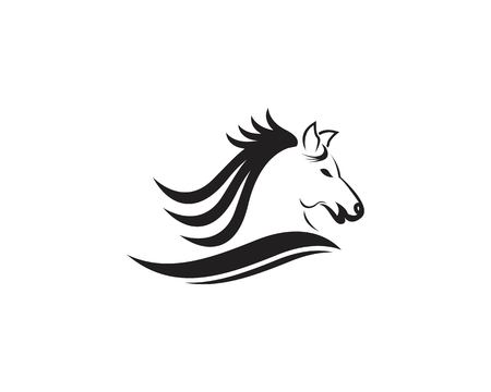 Horse logo design vector template 写真素材 - 112053401