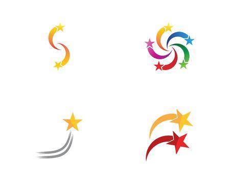 Star faster logo vector Illusztráció