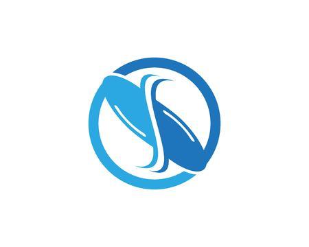 Modèle de vecteur de conception de logo de cheval